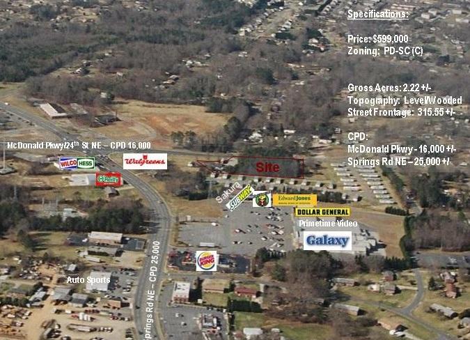 Walgreens outparcel – Hickory, NC